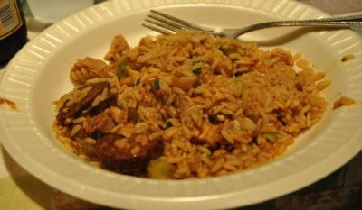 New Orleans Style Cajun Chicken Flavored Rice