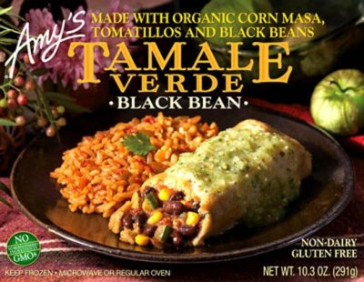 Tamale Verde, Black Bean, Made With Organic Corn Masa, Tomatillos And Black Beans