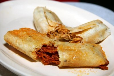 Chicken & Cheese Tamales