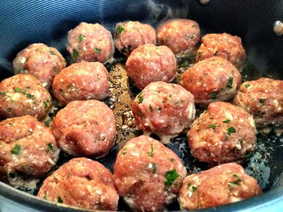 Fully Cooked Turkey Meatballs