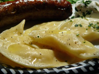 Pierogies, Potato & American Cheese