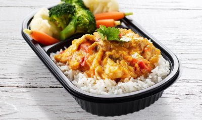 Rice With Chicken & Vegetables