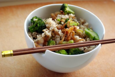 Basmati Rice Pilaf with Vegetables, Vegetarian