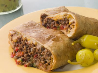 Chimichanga, Steak & Cheese