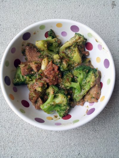 Complete Skillet Meal for Two Beef & Broccoli