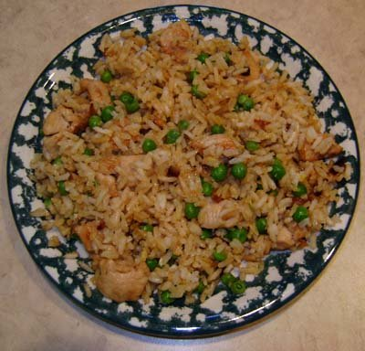 Frozen Dinner, Chicken Fried Rice