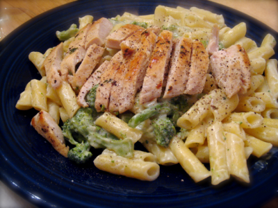 Grilled Chicken & Broccoli Alfredo
