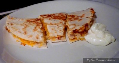 Grilled Mini Chicken & Cheese Quesadillas