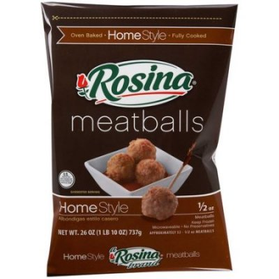 Meatballs, Homestyle 1/2 Oz