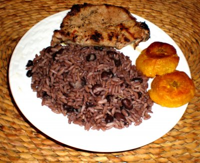Cuban Recipe Black Beans & Rice