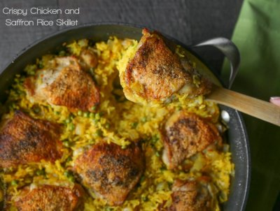 Savory Chicken & Rice Skillet