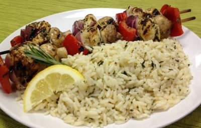 Herb Chicken Flavored Vegetable Rice