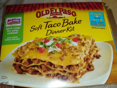 Dinner Kit, Soft Taco Bake