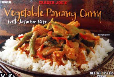 Vegetable Panang Curry with Jasmine Rice