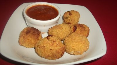 Breaded Mushrooms
