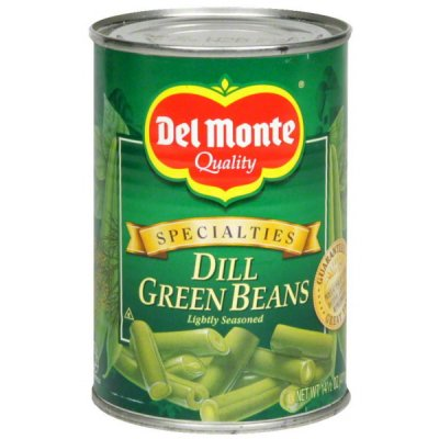 Dill Green Beans, Lightly Seasoned