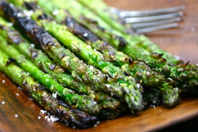 Grilled & Marinated Asparagus