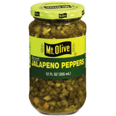 Jalapeno Peppers, Diced