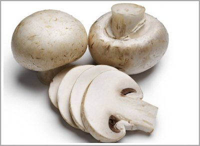 Whole Sliced Mushrooms