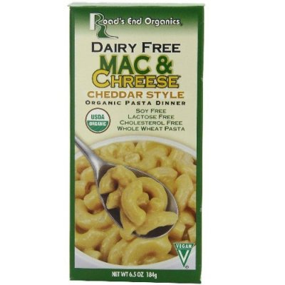 Dairy Free Mac & Cheese, Whole Wheat Pasta
