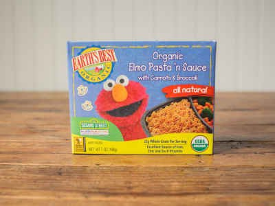 Organic Elmo Pasta 'n Sauce, with Carrots & Broccoli
