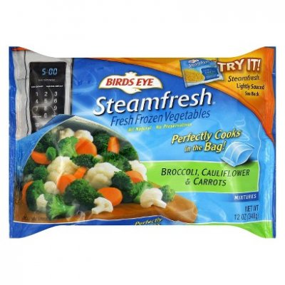 Steamfresh Fresh Frozen Vegetables, Pasta And Carrot With A Tomato Sauce