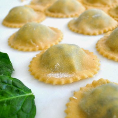 Organic Fresh Spinach & Cheese Ravioli