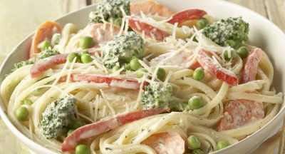 Simply Chicken Pasta Primavera