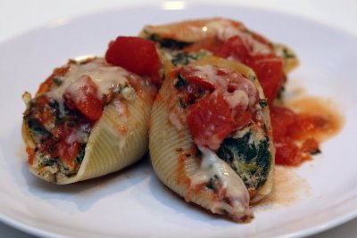 Stuffed Shells with Ricotta
