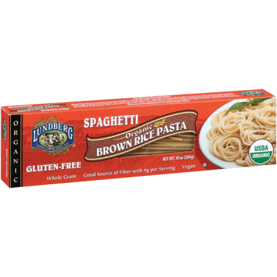 Whole Grain Organic Brown Rice Pasta And Sauce Mix, Spinach & Rosemary