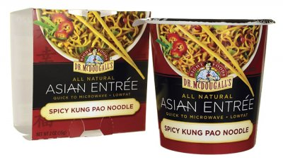 Asian Entree, Spicy Kung Pao Noodle