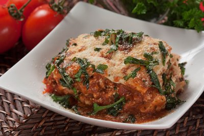 Sauteed Vegetable Lasagna