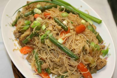 Chicken Broth with Noodles & Vegetables