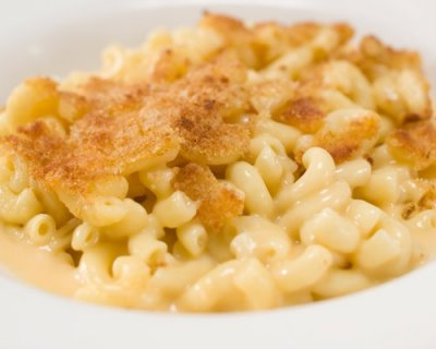 Farmhouse Mac & Cheese Organic Pasta With A Breadcrumb Topping