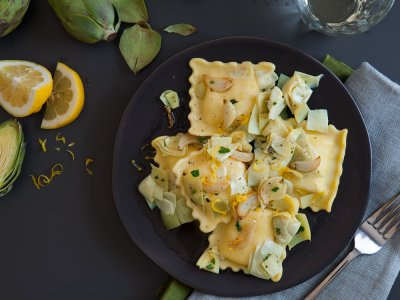 Five Cheese Ravioli Pasta
