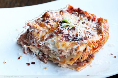 Lasagna, Cheese