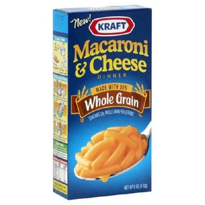 Macaroni & Cheese Dinner, Whole Grain