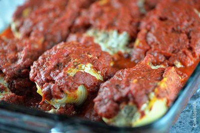 Stuffed Shells with Sauce