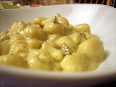 Gnocchi and Gorgonzola