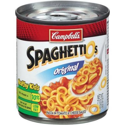 SpaghettiOs Original, Pasta In Tomato And Cheese Sauce