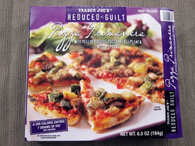 Reduced Guilt Pizza Primavera