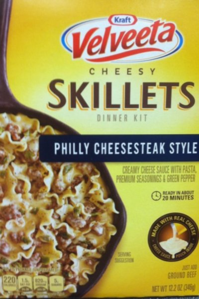 Cheesy Skillets Dinner Kit, Nacho Supreme
