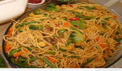 Chow Mein, Vegetable