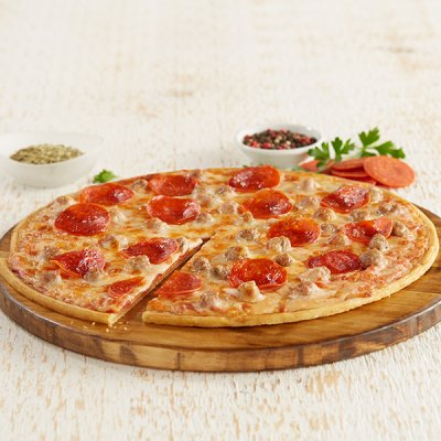 Four Cheese Thin Crispy Crust Pizza