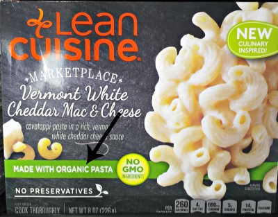 Vermont White Cheddar Mac And Cheese, Made With Organic Pasta