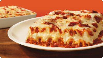 Five Cheese Lasagna, Large Size
