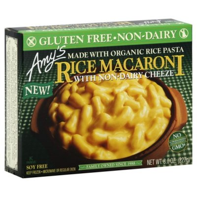 Rice Macaroni, with Non-Dairy Cheeze