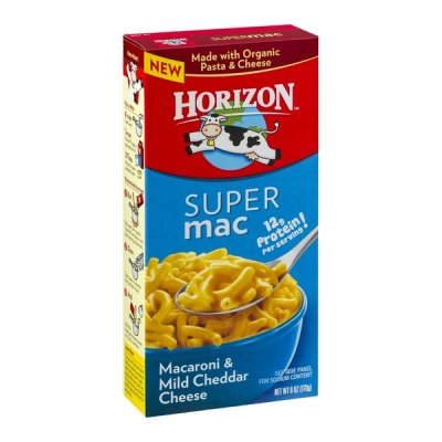 Super Mac Macaroni & Mild Cheddar Cheese