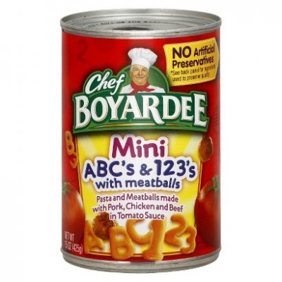 ABC's & 123's, with Meatballs