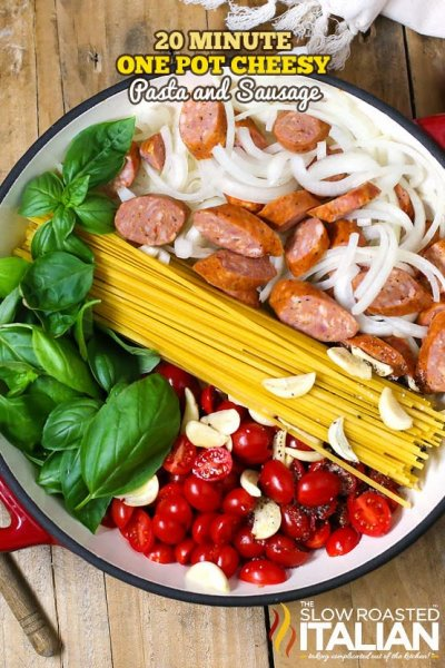 Italian Sausage And Rigatoni, Meals